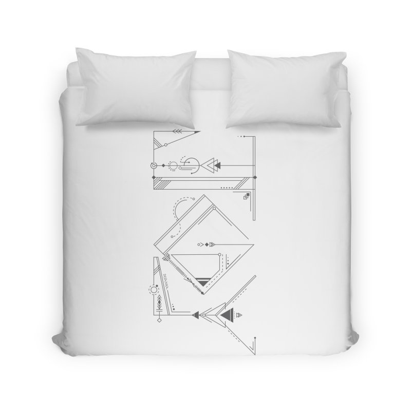 JOY // Connected Home Duvet by Desanka Spirit's Artist Shop