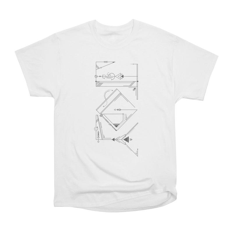 JOY // Connected Men's Heavyweight T-Shirt by Desanka Spirit's Artist Shop