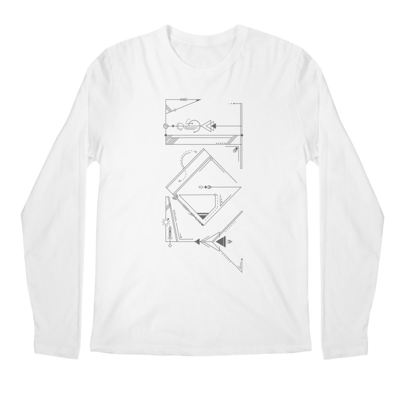 JOY // Connected Men's Regular Longsleeve T-Shirt by Desanka Spirit's Artist Shop