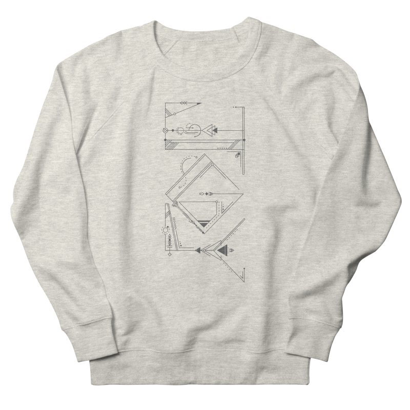 JOY // Connected Women's French Terry Sweatshirt by Desanka Spirit's Artist Shop