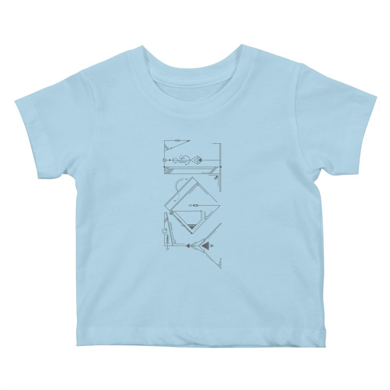 JOY // Connected Kids Baby T-Shirt by Desanka Spirit's Artist Shop