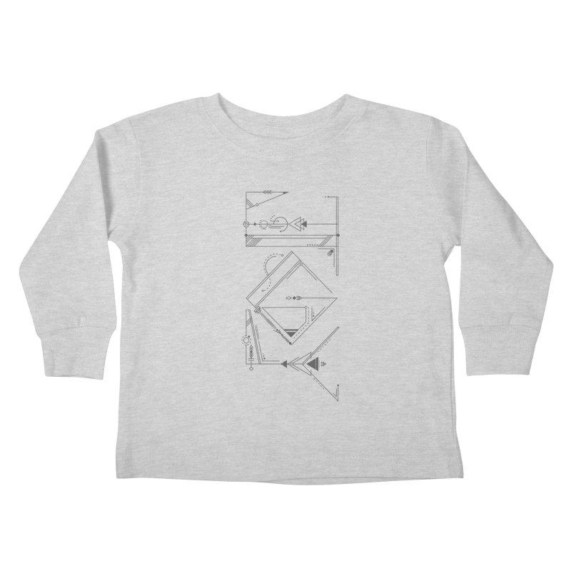 JOY // Connected Kids Toddler Longsleeve T-Shirt by Desanka Spirit's Artist Shop