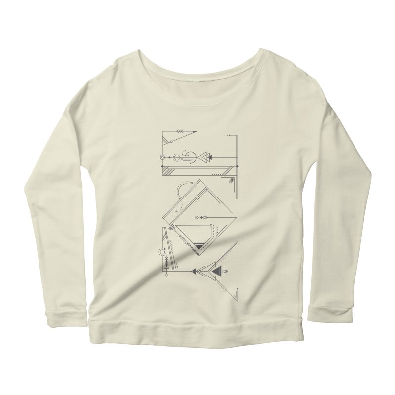 JOY // Connected Women's Scoop Neck Longsleeve T-Shirt by desankaspirit's Artist Shop