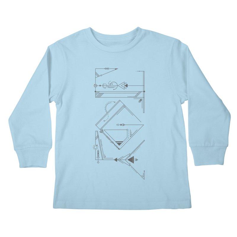 JOY // Connected Kids Longsleeve T-Shirt by Desanka Spirit's Artist Shop