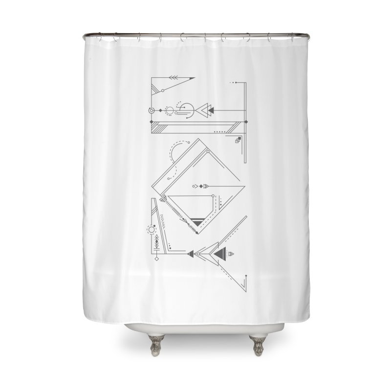 JOY // Connected Home Shower Curtain by Desanka Spirit's Artist Shop