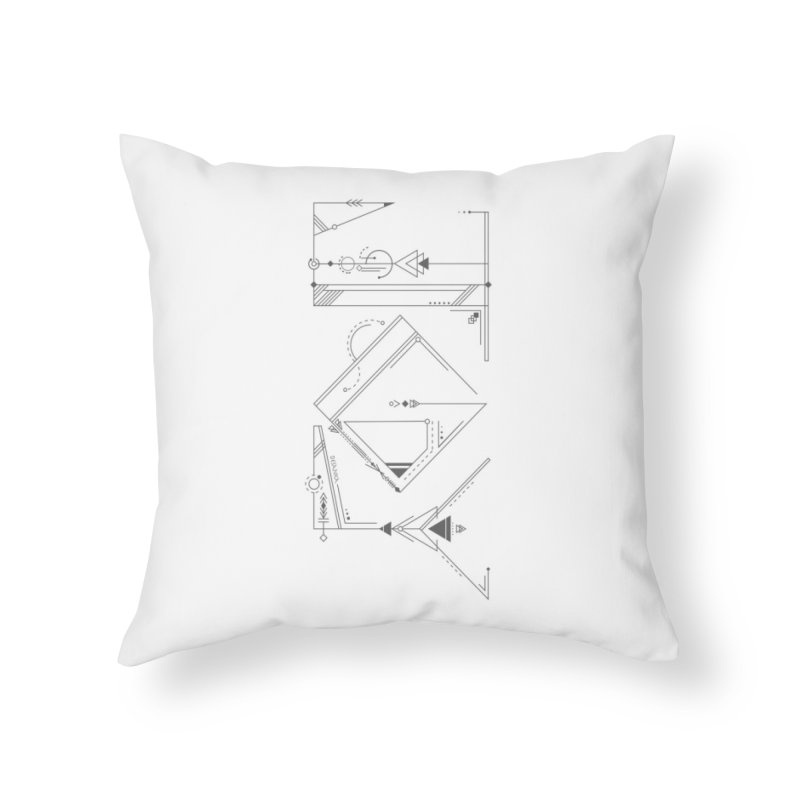 JOY // Connected Home Throw Pillow by Desanka Spirit's Artist Shop