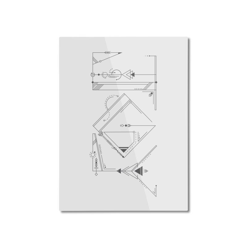 JOY // Connected Home Mounted Aluminum Print by Desanka Spirit's Artist Shop
