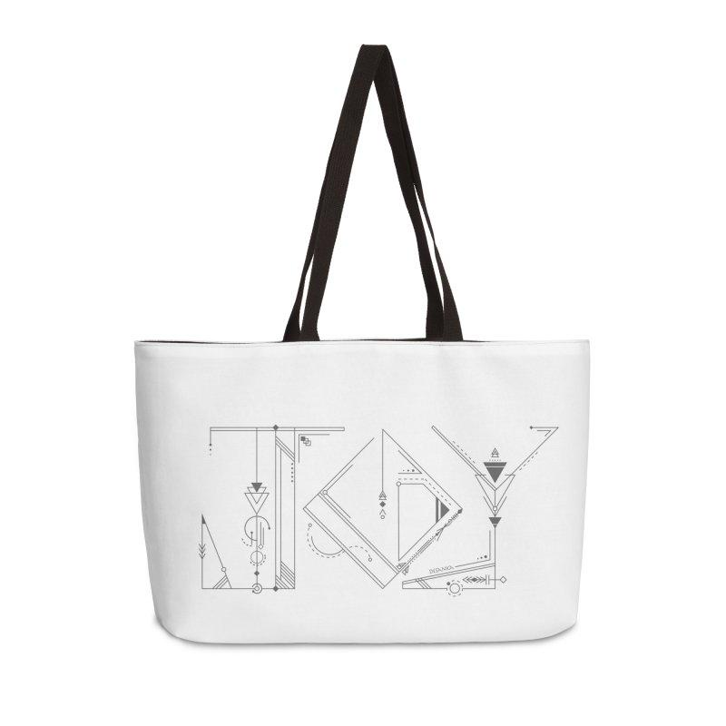JOY // Connected Accessories Weekender Bag Bag by Desanka Spirit's Artist Shop