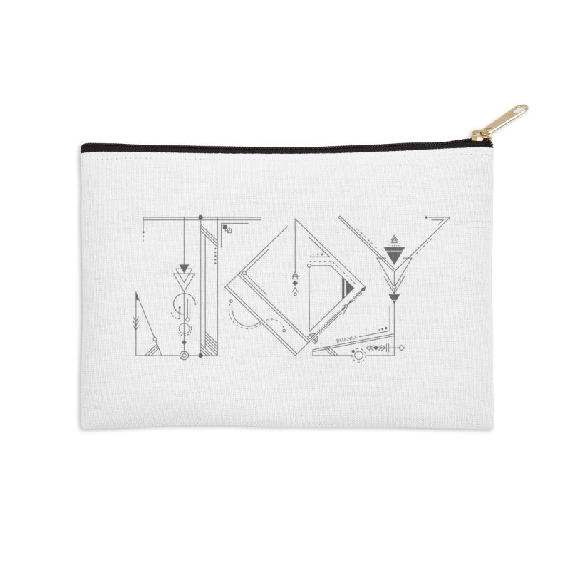 JOY // Connected Accessories Zip Pouch by Desanka Spirit's Artist Shop