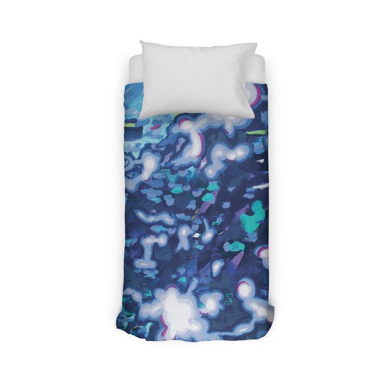 JOY // Awakening Home Duvet by Desanka Spirit's Artist Shop