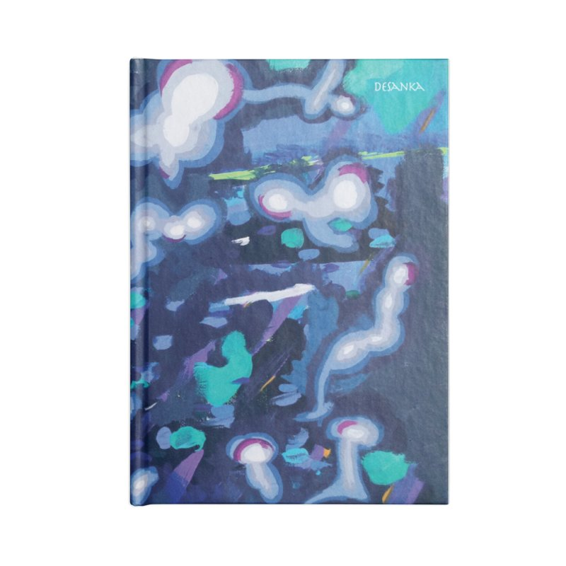 JOY // Awakening Accessories Blank Journal Notebook by Desanka Spirit's Artist Shop