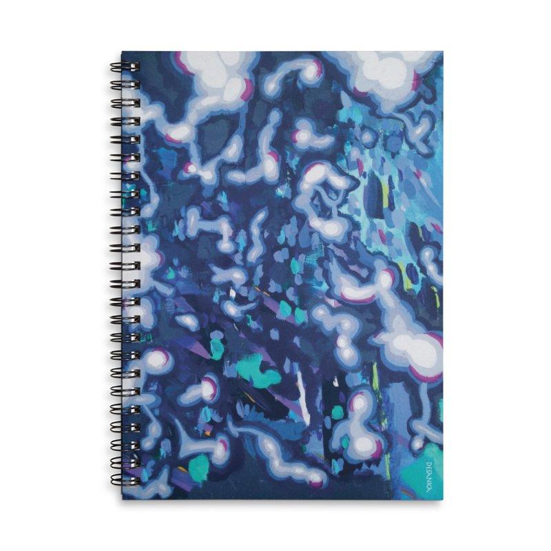 JOY // Awakening Accessories Lined Spiral Notebook by Desanka Spirit's Artist Shop