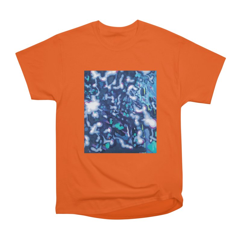JOY // Awakening Men's Heavyweight T-Shirt by Desanka Spirit's Artist Shop