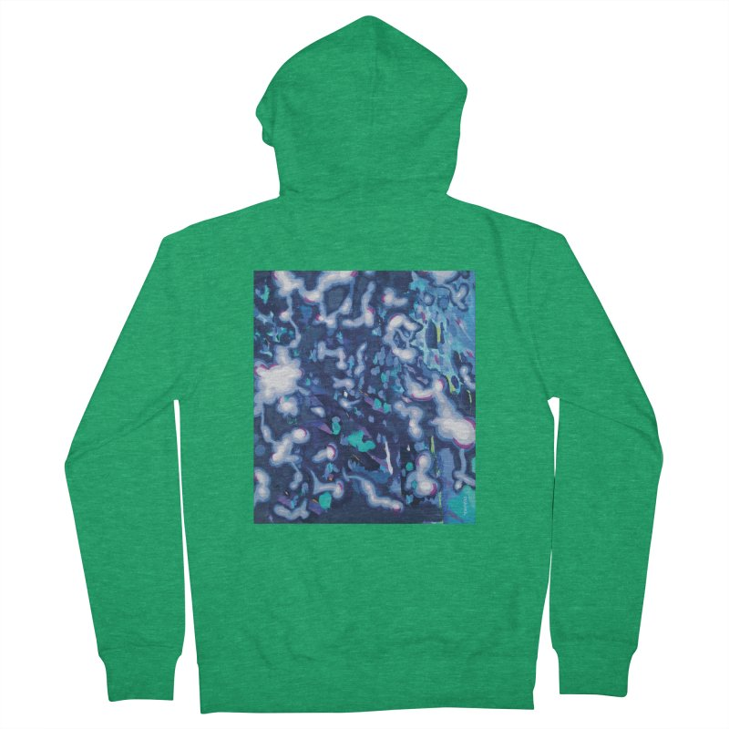 JOY // Awakening Men's Zip-Up Hoody by Desanka Spirit's Artist Shop