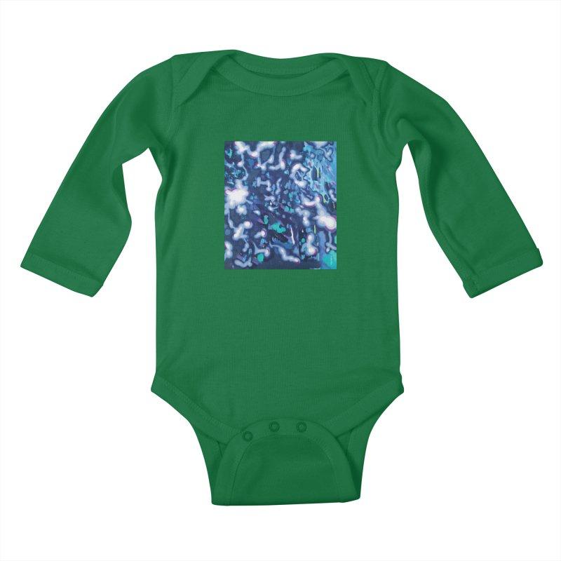 JOY // Awakening Kids Baby Longsleeve Bodysuit by Desanka Spirit's Artist Shop