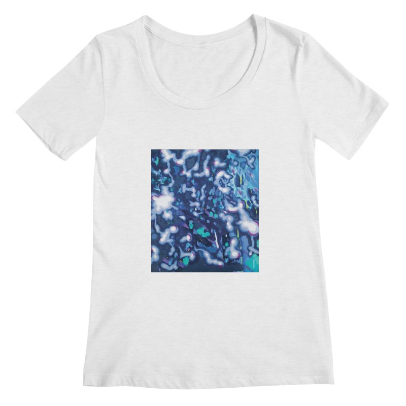 JOY // Awakening Women's Scoop Neck by Desanka Spirit's Artist Shop