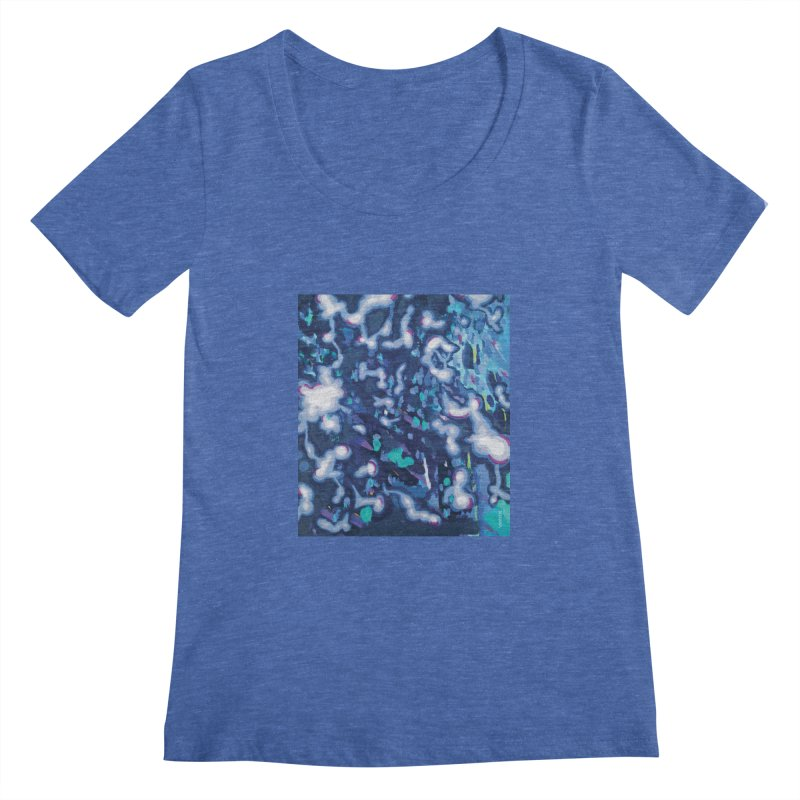 JOY // Awakening Women's Regular Scoop Neck by desankaspirit's Artist Shop