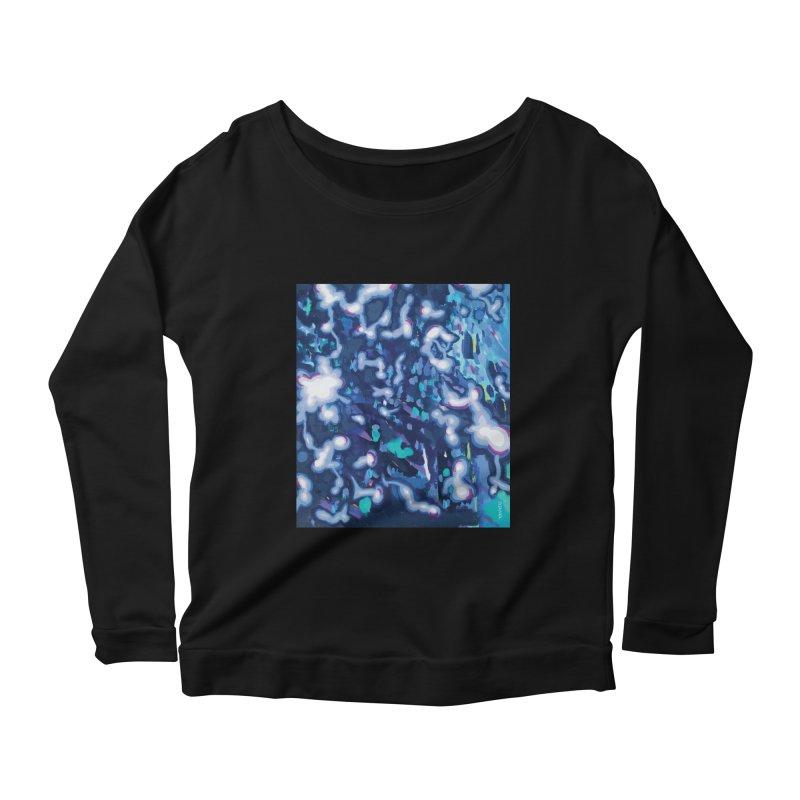 JOY // Awakening Women's Scoop Neck Longsleeve T-Shirt by Desanka Spirit's Artist Shop