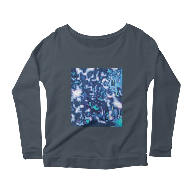JOY // Awakening Women's Scoop Neck Longsleeve T-Shirt by desankaspirit's Artist Shop