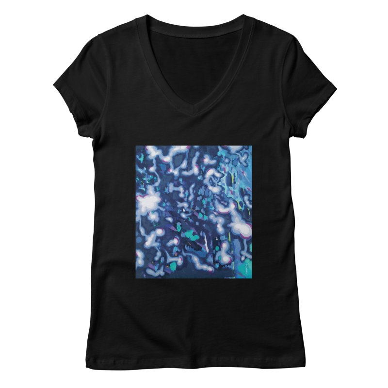 JOY // Awakening Women's V-Neck by Desanka Spirit's Artist Shop