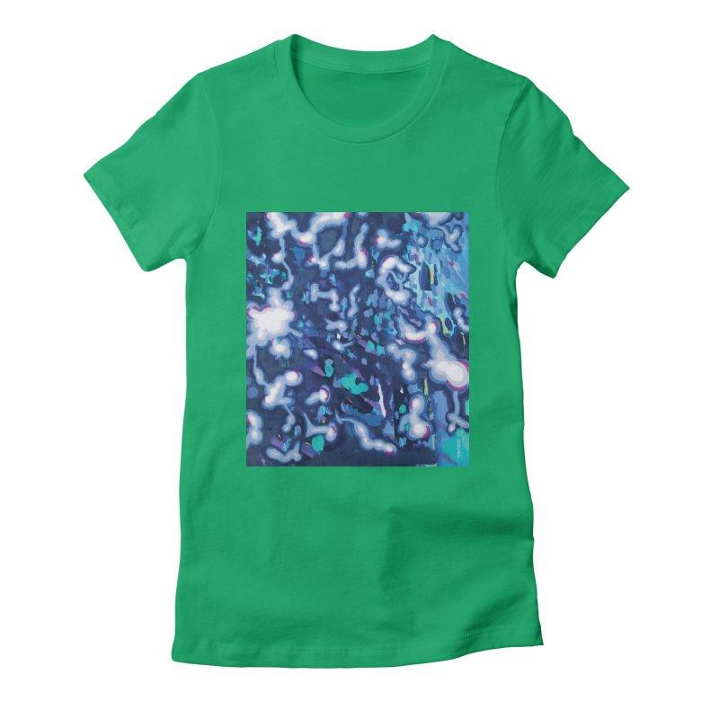JOY // Awakening Women's Fitted T-Shirt by Desanka Spirit's Artist Shop