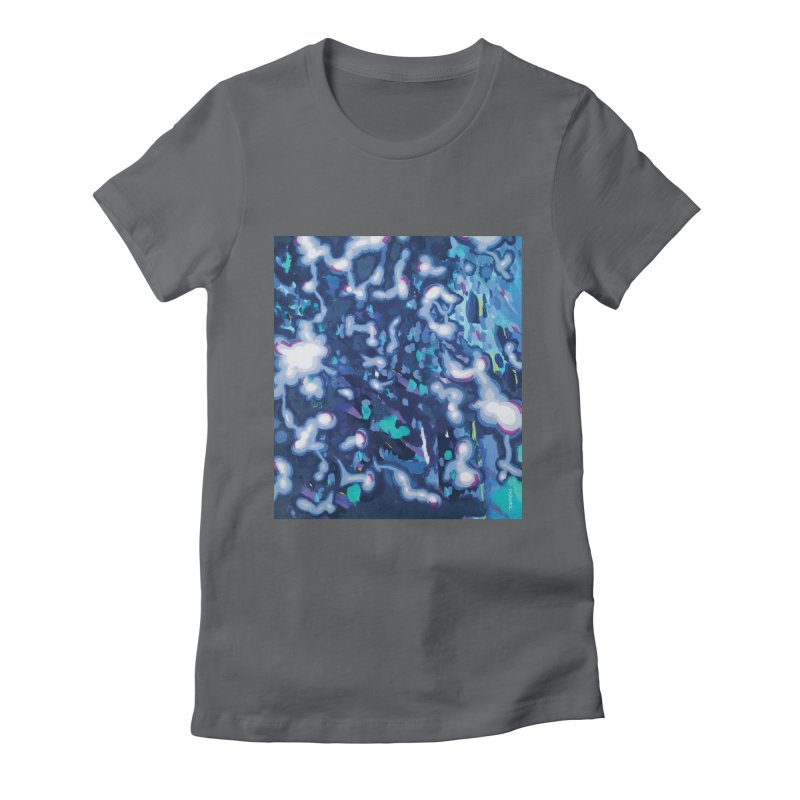 JOY // Awakening Women's Fitted T-Shirt by Desanka Spirit's Artist Shop