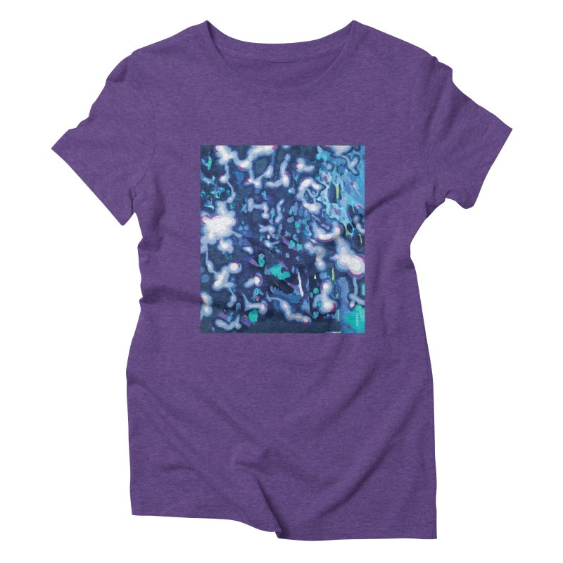 JOY // Awakening Women's Triblend T-Shirt by Desanka Spirit's Artist Shop