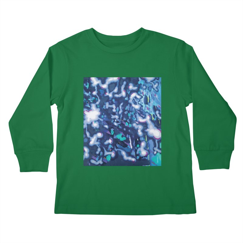 JOY // Awakening Kids Longsleeve T-Shirt by Desanka Spirit's Artist Shop