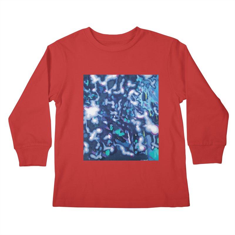JOY // Awakening Kids Longsleeve T-Shirt by Desanka Spirit's Artist Shop