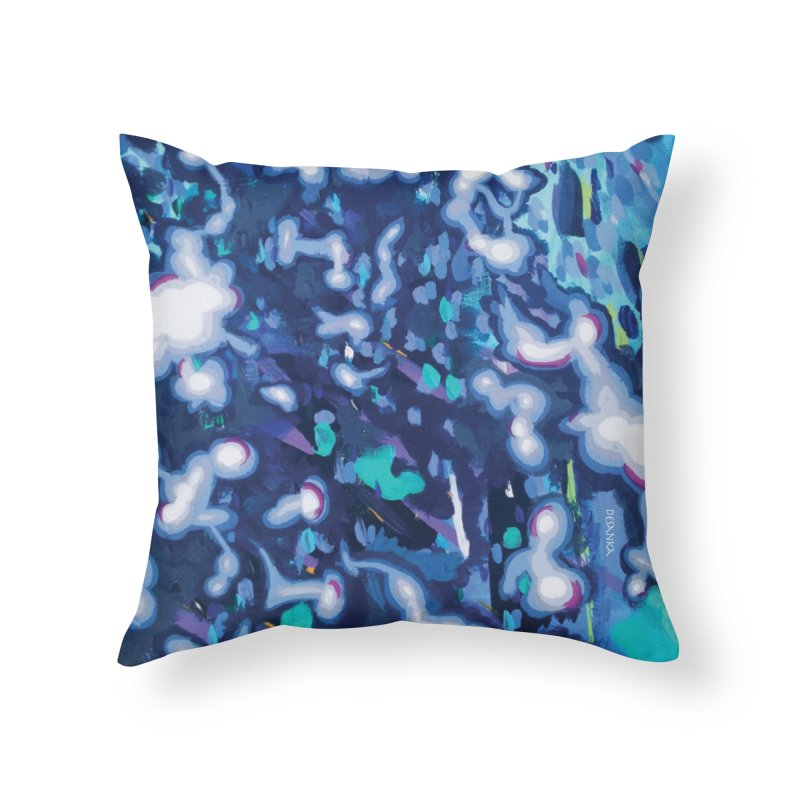 JOY // Awakening Home Throw Pillow by Desanka Spirit's Artist Shop