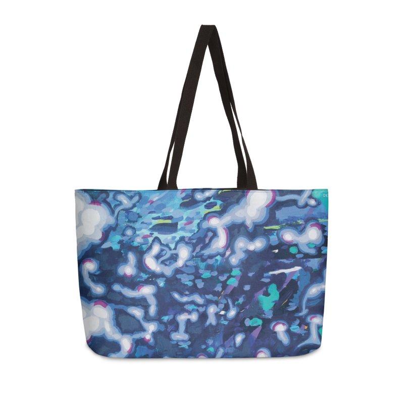 JOY // Awakening Accessories Weekender Bag Bag by Desanka Spirit's Artist Shop