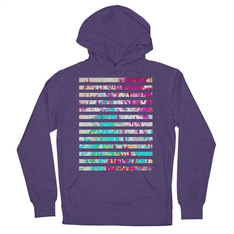 JOY // Colors Exploding Women's French Terry Pullover Hoody by Desanka Spirit's Artist Shop