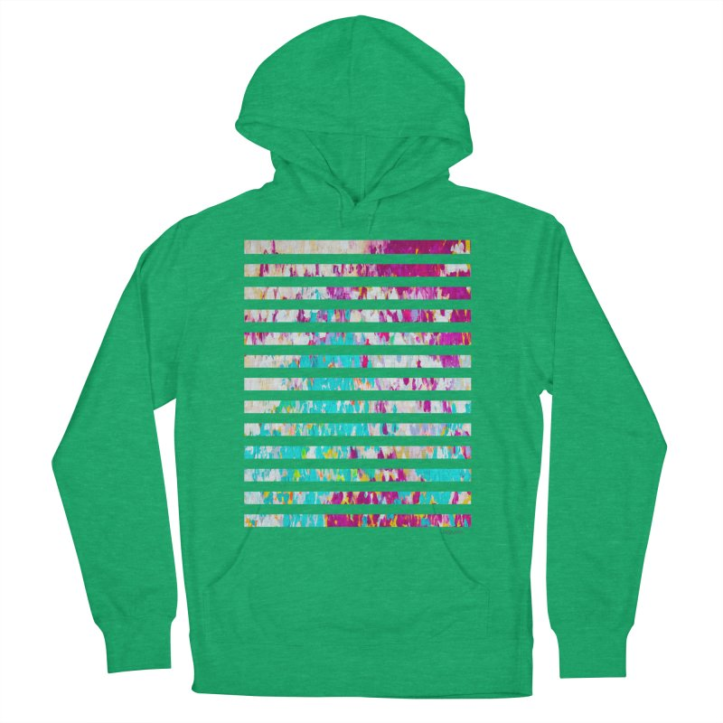 JOY // Colors Exploding Men's French Terry Pullover Hoody by Desanka Spirit's Artist Shop