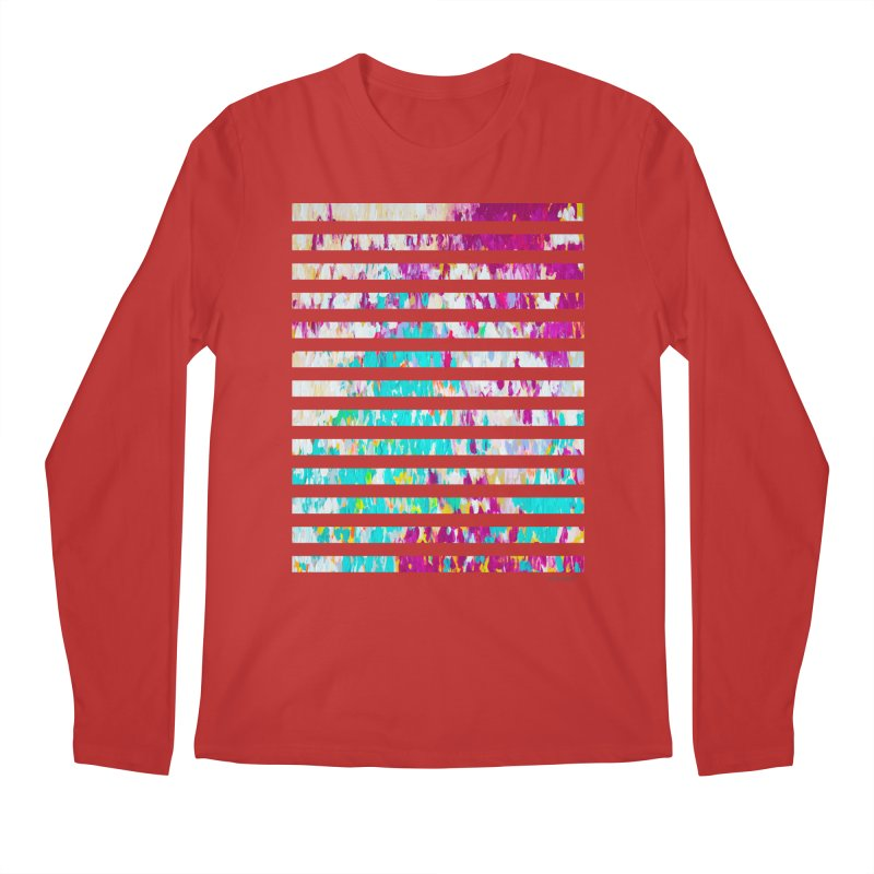 JOY // Colors Exploding Men's Regular Longsleeve T-Shirt by Desanka Spirit's Artist Shop