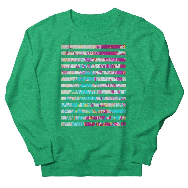 JOY // Colors Exploding Men's French Terry Sweatshirt by Desanka Spirit's Artist Shop