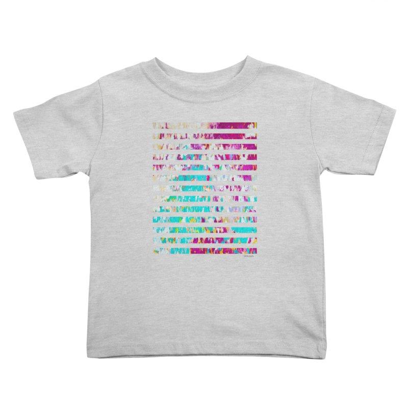 JOY // Colors Exploding Kids Toddler T-Shirt by Desanka Spirit's Artist Shop