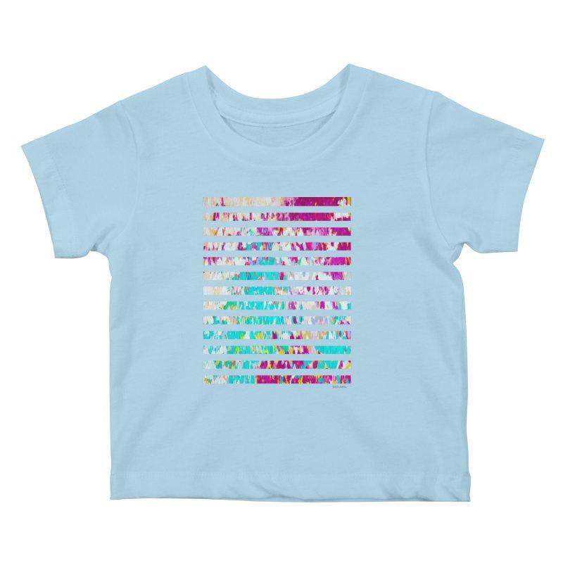 JOY // Colors Exploding Kids Baby T-Shirt by Desanka Spirit's Artist Shop
