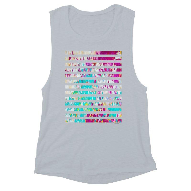 JOY // Colors Exploding Women's Muscle Tank by Desanka Spirit's Artist Shop
