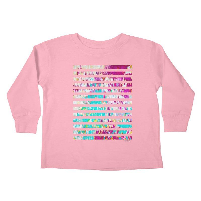 JOY // Colors Exploding Kids Toddler Longsleeve T-Shirt by Desanka Spirit's Artist Shop