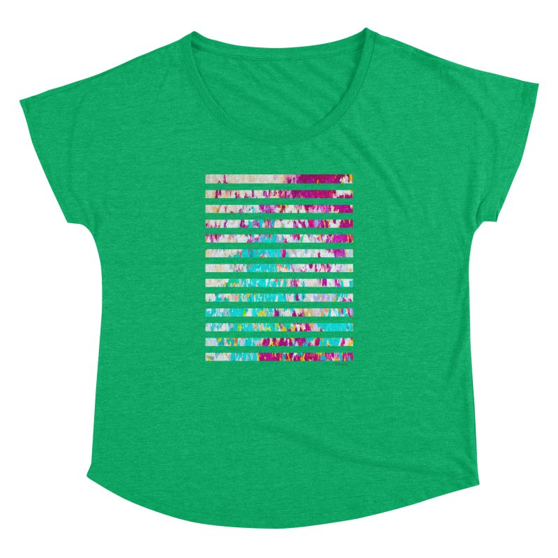 JOY // Colors Exploding Women's Scoop Neck by Desanka Spirit's Artist Shop