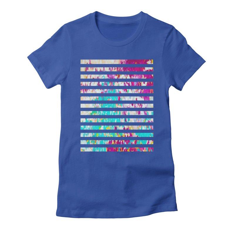 JOY // Colors Exploding Women's T-Shirt by Desanka Spirit's Artist Shop