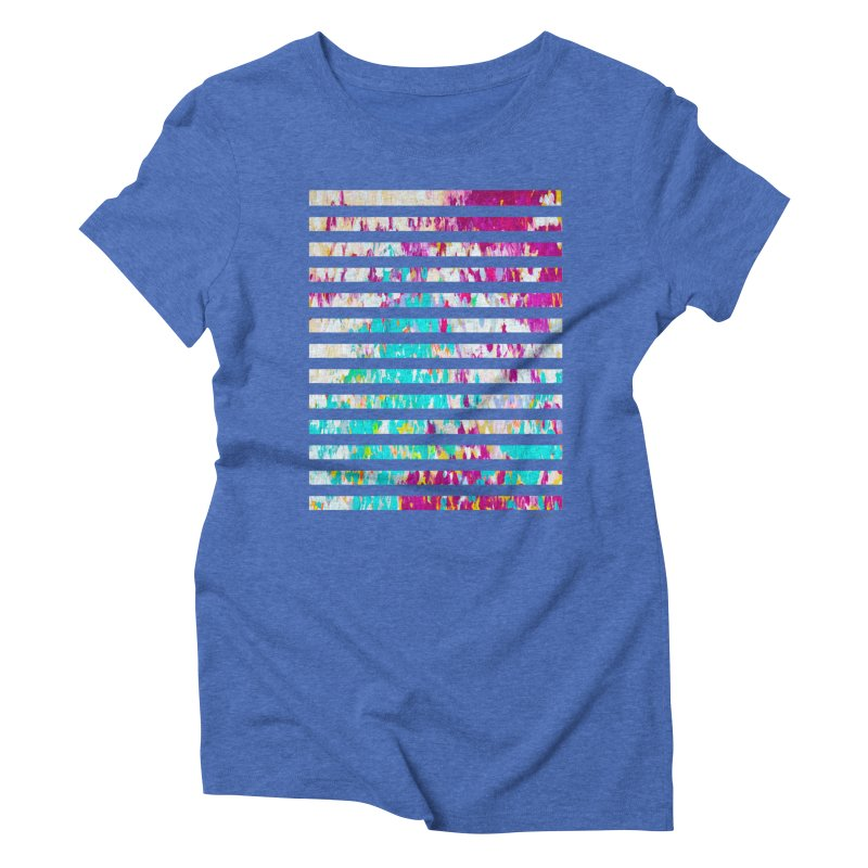JOY // Colors Exploding Women's Triblend T-Shirt by Desanka Spirit's Artist Shop