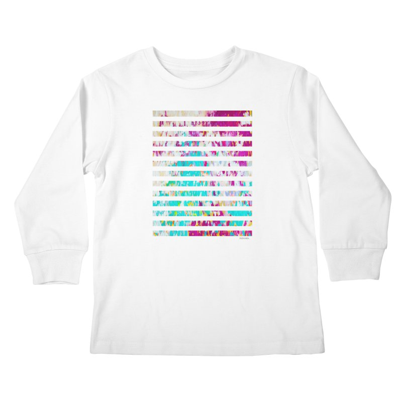JOY // Colors Exploding Kids Longsleeve T-Shirt by Desanka Spirit's Artist Shop