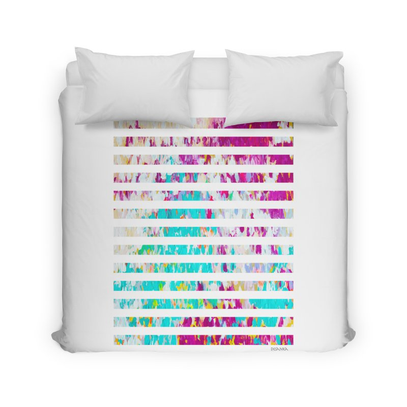 JOY // Colors Exploding Home Duvet by Desanka Spirit's Artist Shop