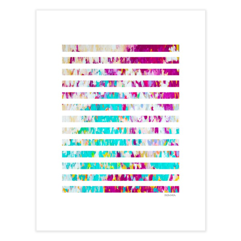 JOY // Colors Exploding Home Fine Art Print by Desanka Spirit's Artist Shop
