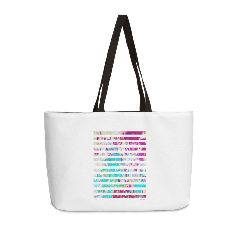 JOY // Colors Exploding Accessories Weekender Bag Bag by Desanka Spirit's Artist Shop