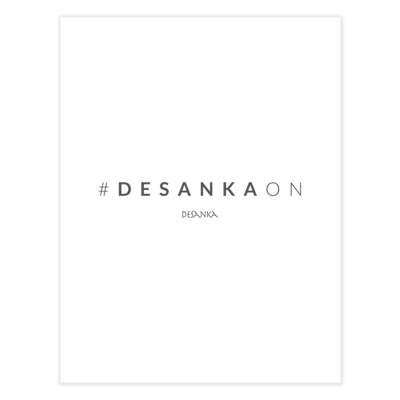 Joy // Desanka On Home Fine Art Print by Desanka Spirit's Artist Shop
