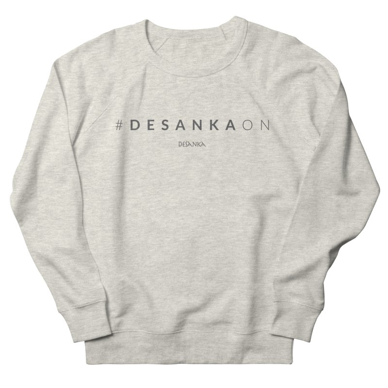 Joy // Desanka On Men's Sweatshirt by Desanka Spirit's Artist Shop
