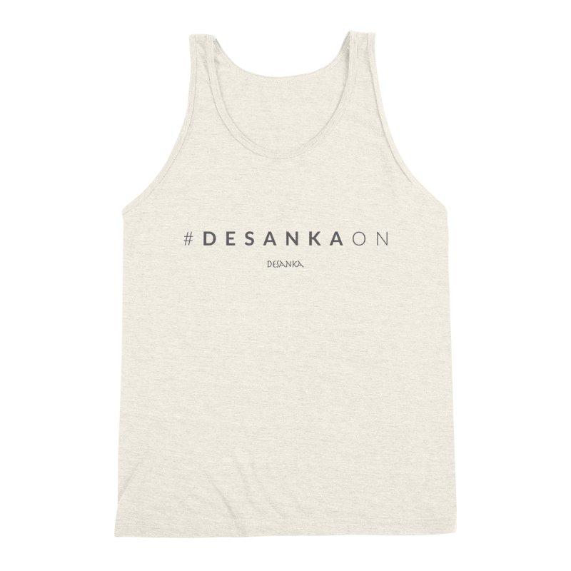 Joy // Desanka On Men's Tank by Desanka Spirit's Artist Shop