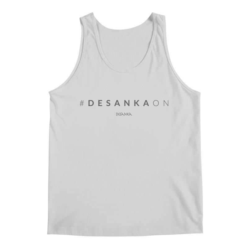 Joy // Desanka On Men's Regular Tank by Desanka Spirit's Artist Shop